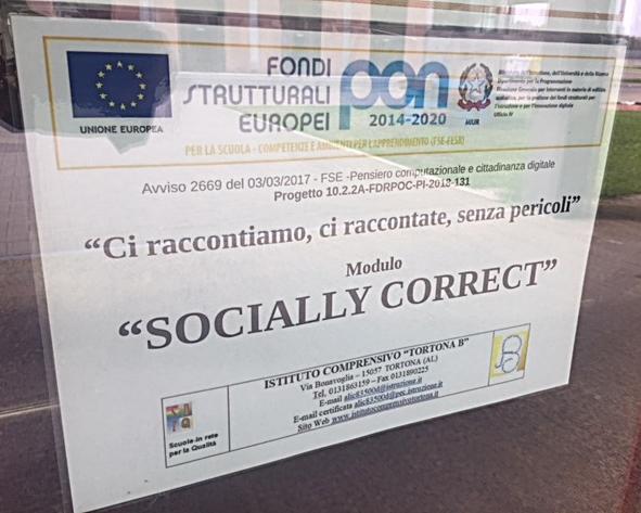 PUBBLICITA PON SOCIALLY CORRECT